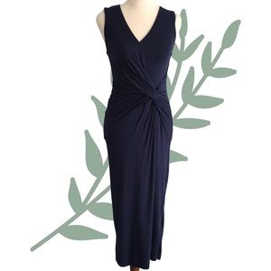 FORCAST Sleeveless Fitted Midi Dress